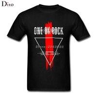 Band One OK Rock T Shirt For Men Online Designer Custom Short Sleeve Boyfriend S XXXL