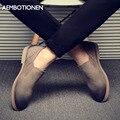 Los nuevos hombres del Verano Zapatos Casuales Zapatos Planos de Los Hombres de Cuero de Gamuza zapatos Bajos de Los Hombres Zapatos Oxford De Los Hombres Sapatos Mocasines Negros Masculinos