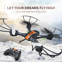 Newest RC JJRC H33 Quadcopter 2 4G 6Axis 4CH Gyro Mini Drone With Led Light Headless