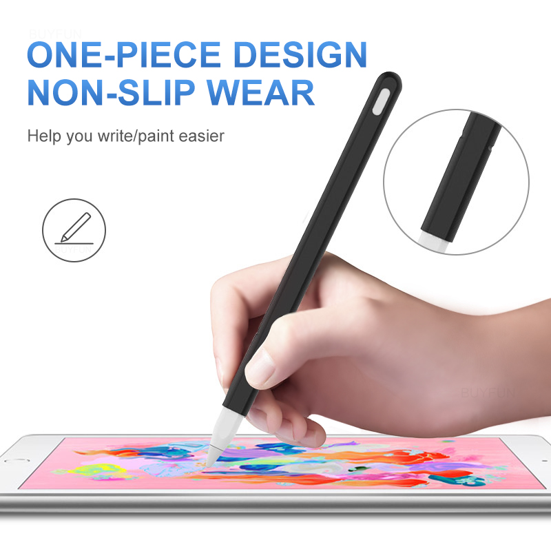 Soft-Silicone-For-Apple-Pencil-2nd-Generation-Case-For-iPad-Pencil-2-Cap-Tip-Cover-Holder (4)
