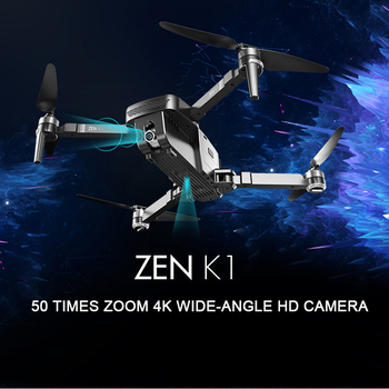 Visuo ZEN K1 GPS RC Drone with 50 Times Zoom 4K Wide-Angle HD Dual Camera 5G Wifi FPV Brushless Motor 28 Mins Flight Time SG906 1