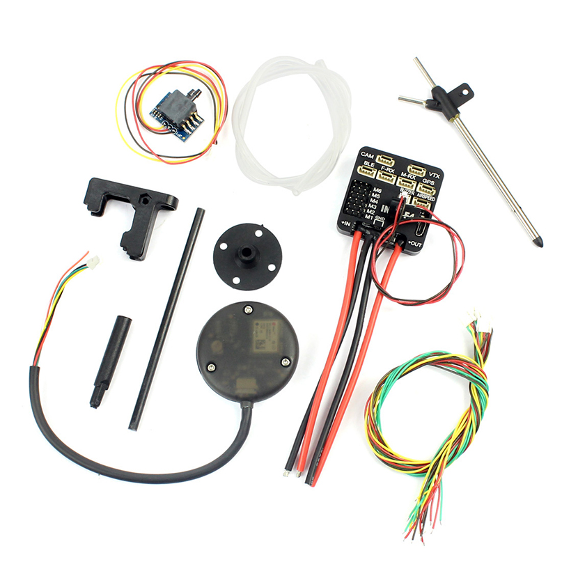 Fixed-Wing F4 Flight Controller M8N GPS Airspeed Built-in OSD & Battery Voltage Current Monitor 2-6S For F4 FPV RC Airplane