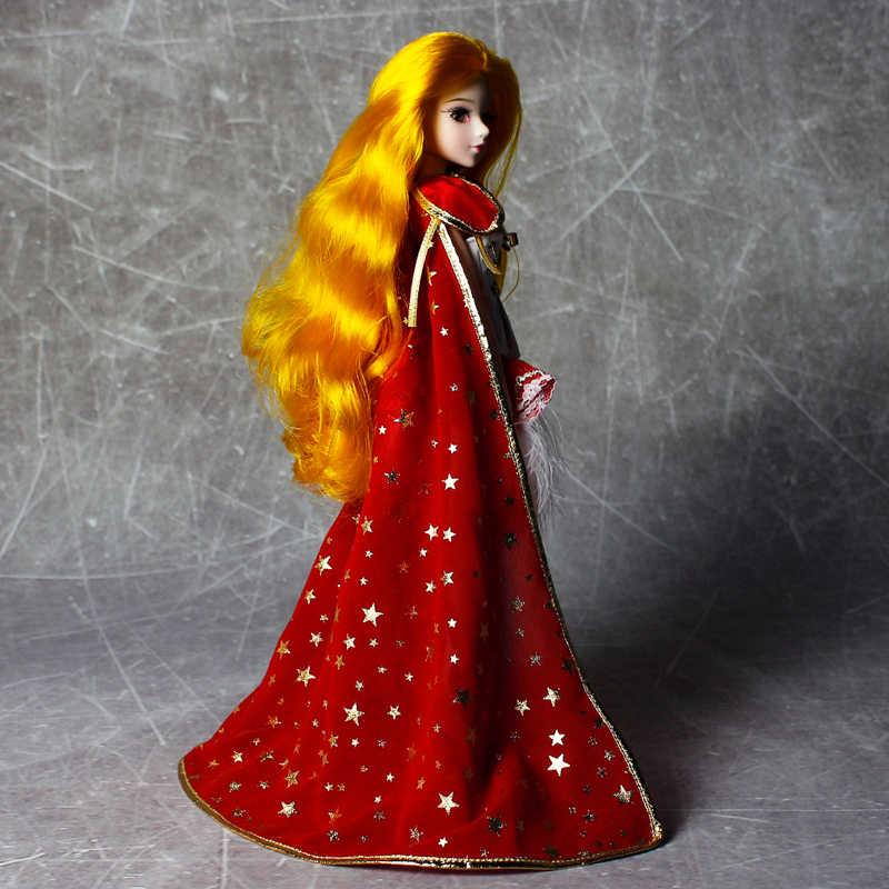 MMG девушка мечта фея BJD кукла 12 созвездий LEO с крутым красным наряд Сапоги хвост стенд ожерелье плащ 14 суставов тела игрушка подарок