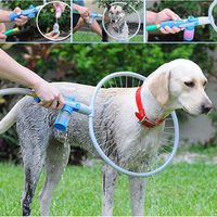 Pet Dog Cat Bathing Cleaner 360 Degree Shower Tool Kit Cleaning Woof Washer Bulb Head Perfect