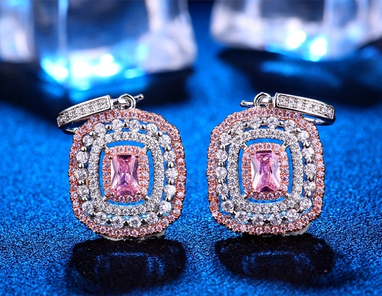 Fashion Jewelery Sets High Quality Crystal/Rhinestone women Ring/Necklace/Earing Exquisite Women Dinner Full Dress Accessories