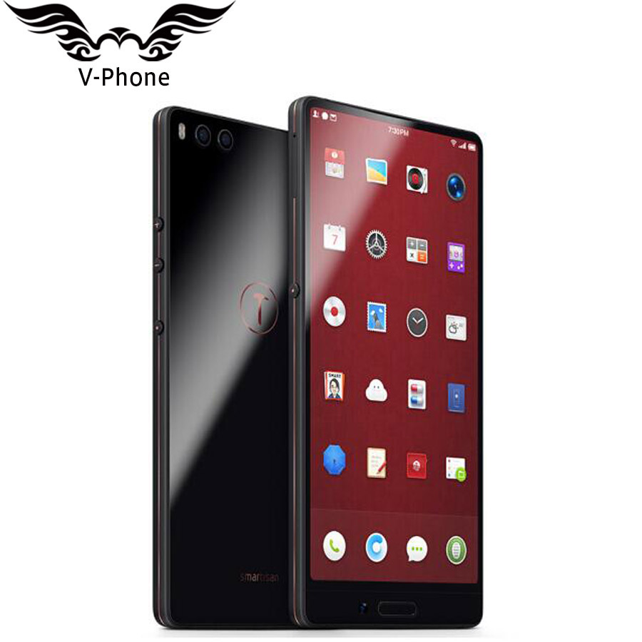 5.99'' 4GB 32GB Smartisan Nut 3 Mobile Phone 4G LTE Snapdragon 625 Octa core 4000mAh Face ID Fingerprint ID Quick Charge3.0