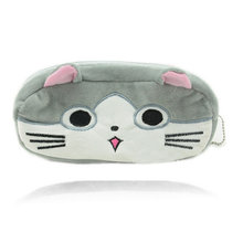 Super Kawaii Chi's Cat Size 20CM Cotton Kids BAG Case Plush ; Lady Coin Cosmetics Purse & Wallet Pouch BAG(China)
