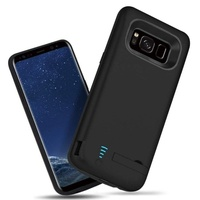 Fashion For Samsung Galaxy S8/S8 Plus S9/S9 Plus Battery Case External Power Bank Cover Portable Charger Protective Charging Cas