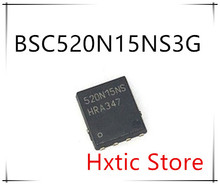 NEW 10PCS/LOT BSC520N15NS3G BSC520N15NS BSC520N15 520N15NS  QFN-8 IC