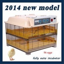 Hot and Top Sale Digital Automatic Egg incubator 96 chicken egg hatching machine Turning chicken gooose quail duck  egg  poultry