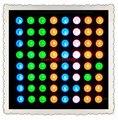 БЕСПЛАТНАЯ ДОСТАВКА 5 ШТ./ЛОТ Ян 8X8 RGB Полноцветный 60*60 СВЕТОДИОДНЫХ Матричные Цифровой Пробки Модуль