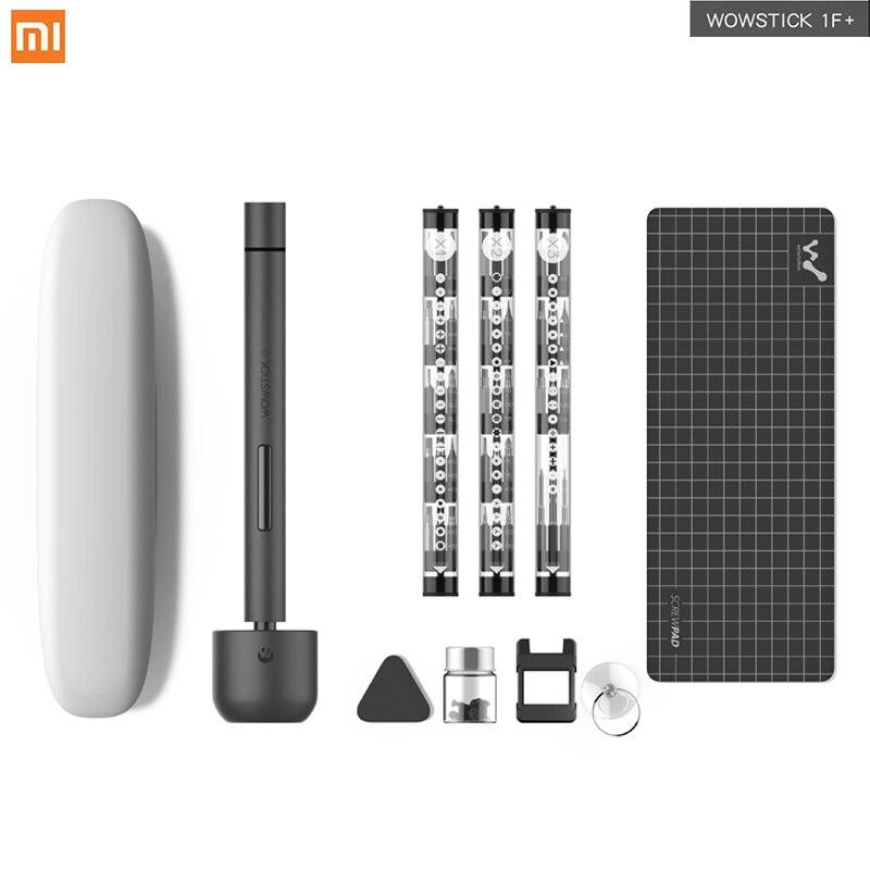 Più nuovo Xiaomi Wowstick 1F + Al Litio Mini Cacciavite Elettrico Corpo In Lega di 3 Led Senza Fili di Potenza Della Batteria con 56 Bit