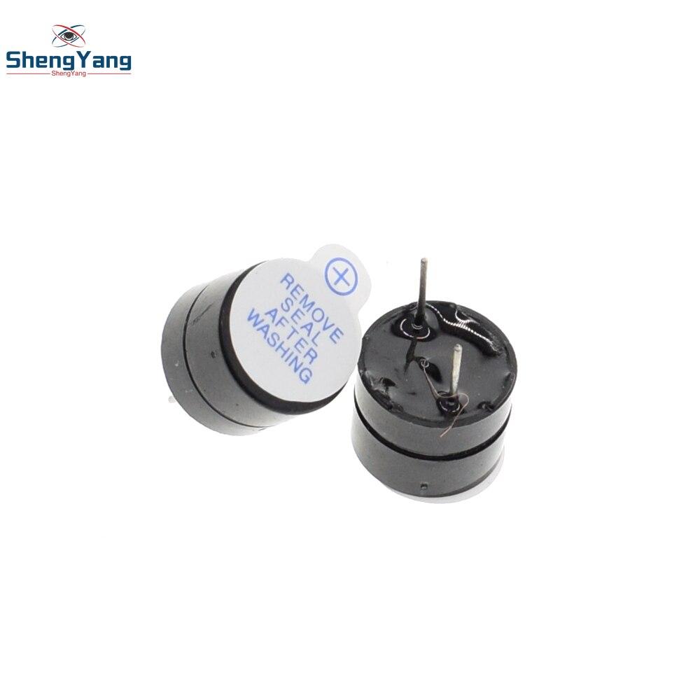 New Arrival 10pcs ShengYang 5v Active Buzzer Magnetic Long Continous Beep Tone 12*9.5mm ...