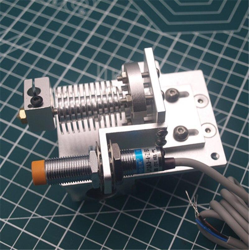1 Juego de aluminio Reprap Prusa i3 v6 Bowden salida hotend carro X kit de montaje con Sensor inductivo de proximidad/1,75/3 mm todas las actualizaciones de metal-in Accesorios y partes de impresoras 3D from Ordenadores y oficina on AliExpress - 11.11_Double 11_Singles' Day 1