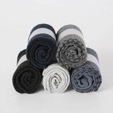 Mwzhh Merk Nieuwe Mannen Bamboo Fibre Sokken Mannen Business Jurk Sokken Herfst Winter Ademend Warm Man Lange Sokken Maat 39 46 10 Pairs
