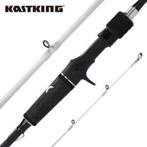 Image 1 - KastKing Crixus 2.08m 2.18m 2.28m Spinning Al Casting Canna Da Pesca 2 Pezzi 30 Ton In Fibra di Carbonio A Medio Veloce azione con SiC Anelli