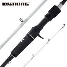 KastKing Crixus 2.08m 2.18m 2.28m Spinning Casting Fishing Rod 2 Pieces 30 Ton Carbon Fiber Medium Fast Action with SiC Rings