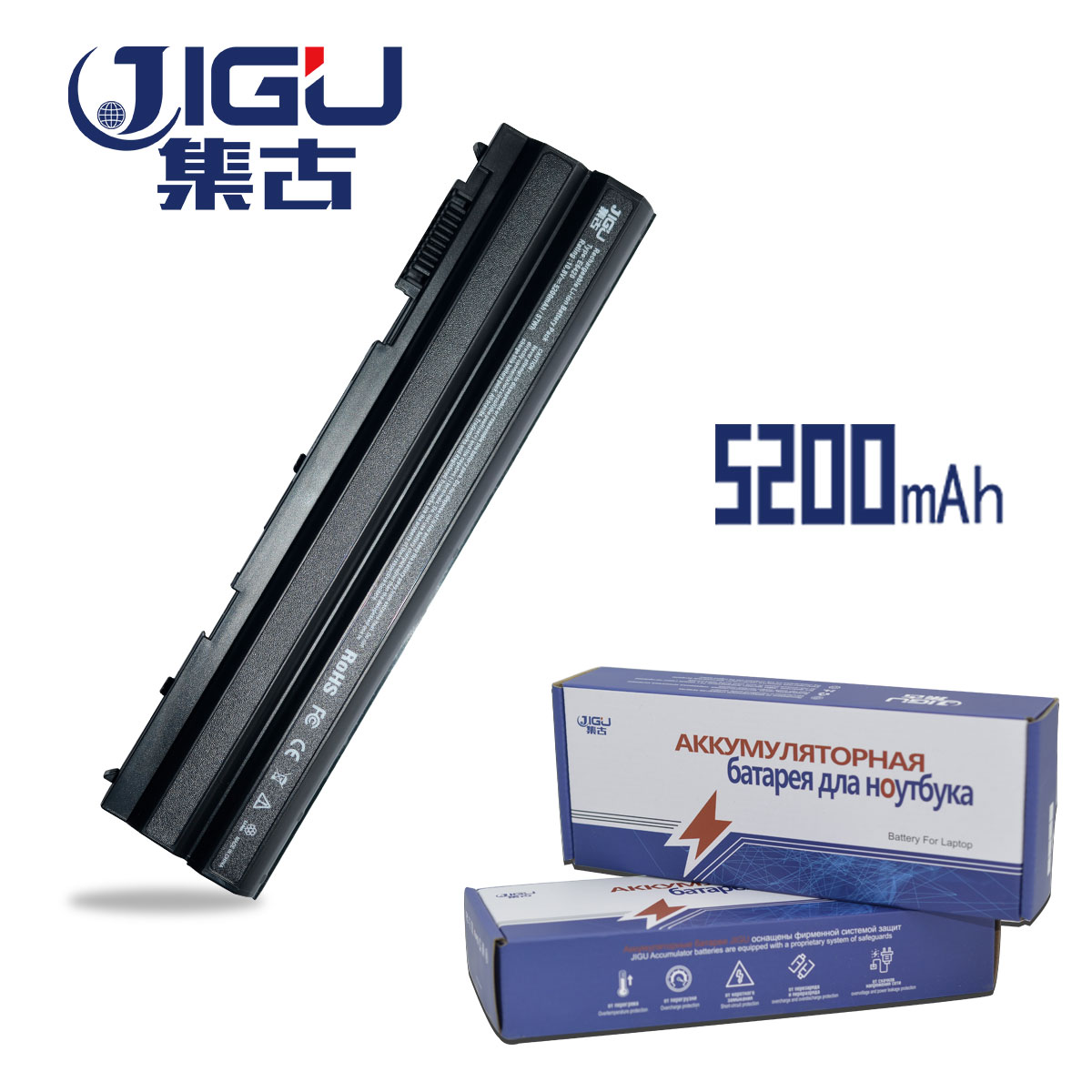 JIGU Battery For Dell Latitude <font><b>E5420</b></font> E5420m E5430 E5520 E5530 E6120 E6420 E6430 E6520 E6530 04NW9 05G67C N4520 N4720 6CELLS image