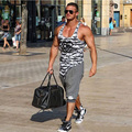 Горячие Продажа Мужчины Бренд одежды Fashion Комфортно хлопок Шорты Мужчины 2016