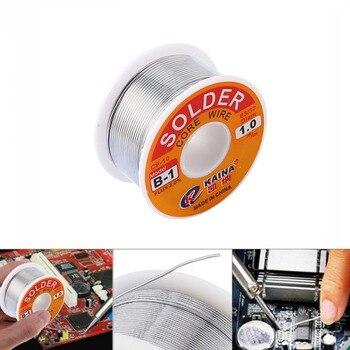 0.5/0.6/0.8/1 mm 2.0% 45FT tin Tin Lead Wire Melt Rosin Core Soldeer Soldeer Wire Roll 100g 60/40 FLUX  Wire Welding Soldering Welding & Soldering Supplies