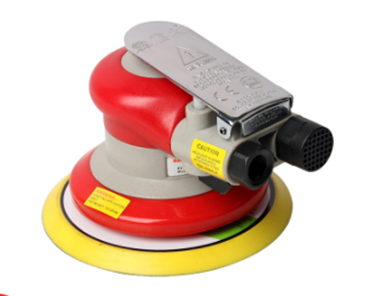 Free shipping High quality Red Random Orbital Sander 5 inch (127 mm) Non-Vacuum 3/16 in Orbit Round home tools free shipping electric disc sander tool accessories plastic pad plate tray for makita gv6000 high quality
