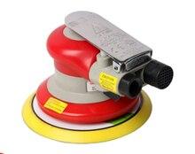 Free shipping High quality Red Random Orbital Sander 5 inch 127 mm Non Vacuum 3 16