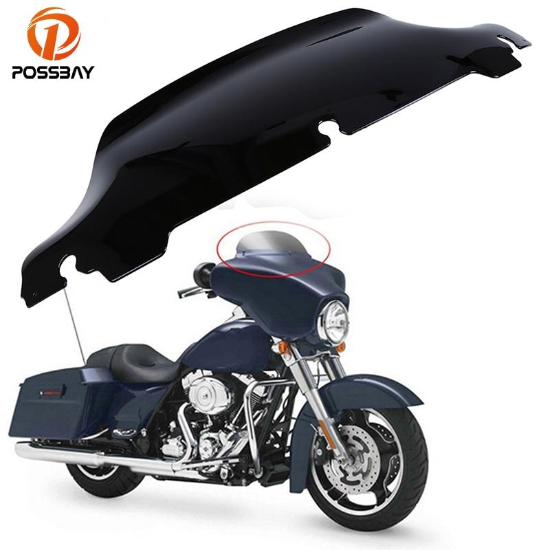 6.5 Motorcycle/Bike Windshield Windscreen Windscherm Bicicleta Wind Deflectors For Harley Touring Electra Glide 2014 2015 2016