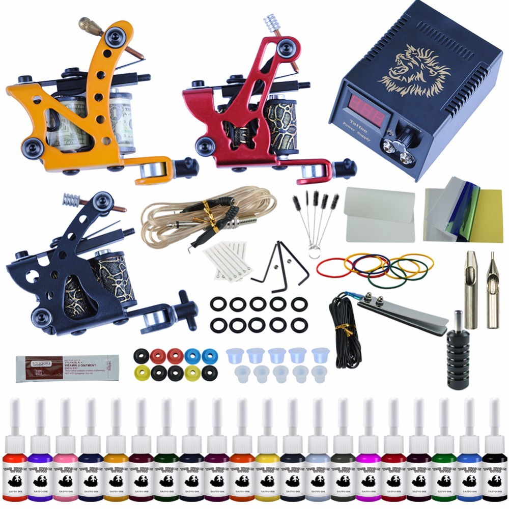 top 10 complet tattoo kit set with ink ideas and get free shipping