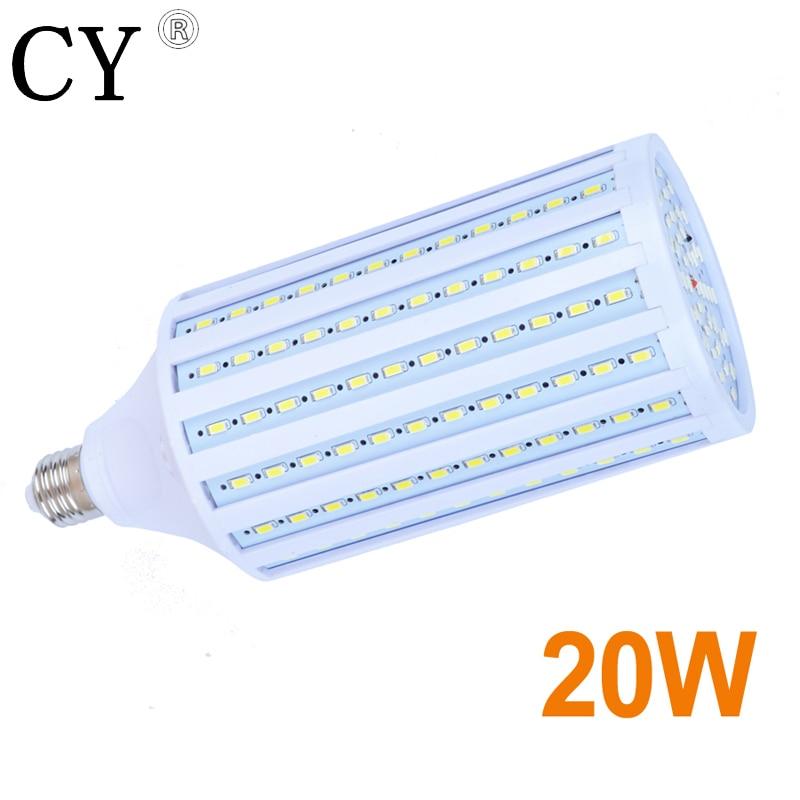 LightupFoto E27 220v Photo Studio Bulb 20W 5730 SMD LED Video Light Corn Lamp Bulb & Tubes Photographic Lighting