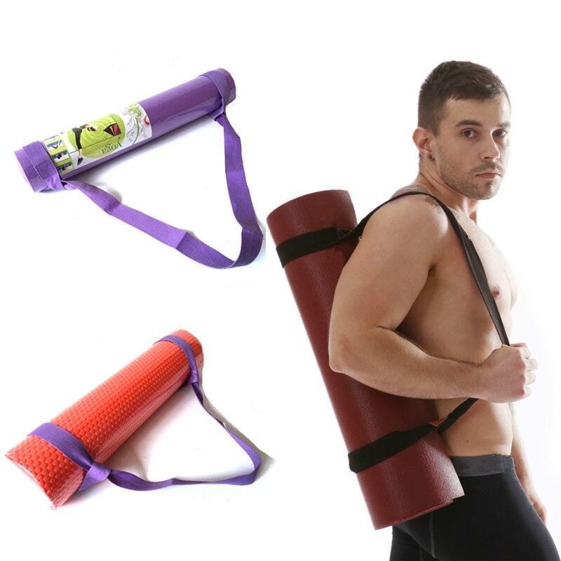 Yoga Mat Sling Shoulder Carry Strap Belt Yoga Column Strap