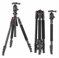 Zomei Aluminium Camera Tripod 63 Inch with Ball Head Quick Release Plate DSLR Travel Tripod for Canon Nikon Dslr DV