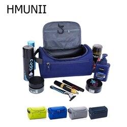 Новинка, водонепроницаемая мужская сумка для макияжа, нейлоновый органайзер для путешествий, косметичка для женщин, несессер, косметичка д...