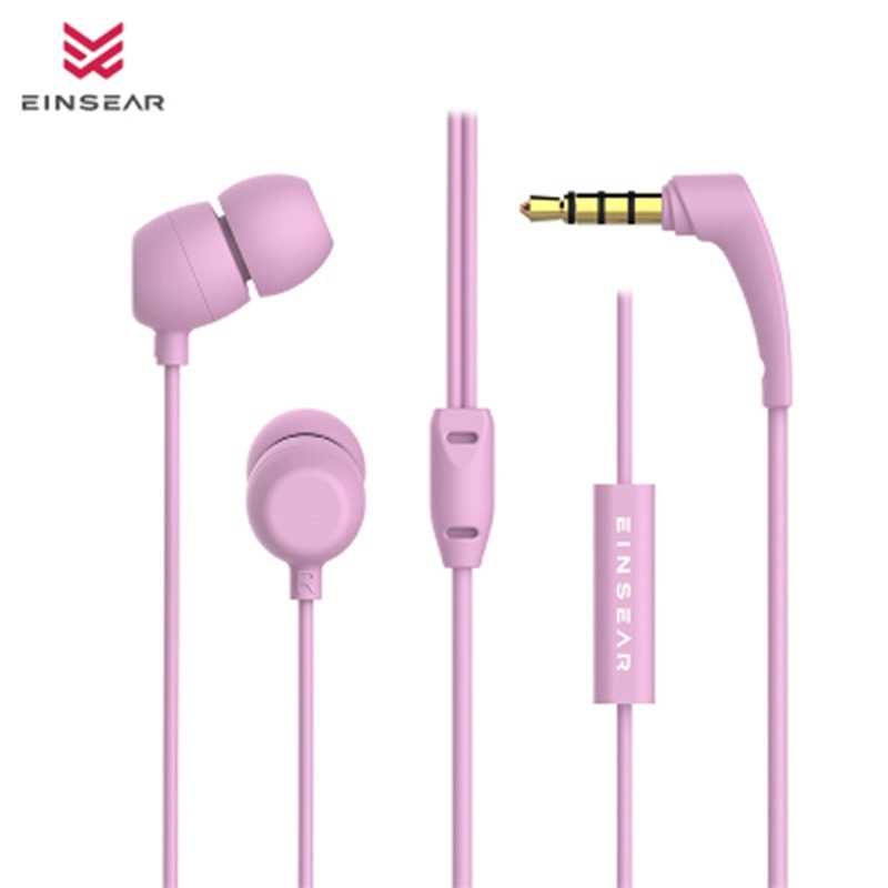 Original EINSEAR CUT In Ear Earphone 3.5MM Stereo Headset Dynamic Earbuds Earphone for iphones for Samsung xiaomi phone PC MP3