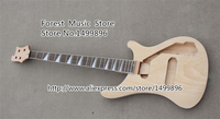 High quality Unfinished Electric Bass Guitar 4 Strings Kits & Bod China Music Instrument Left Handed Custom Available