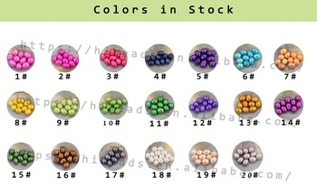 Genuine 20pcs Free Shipping Love Wish Pearl Oyster rice Pearl 20 Colors Undrilled Pearls Choose party beautiful gift  LO024