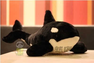 2019 new arrival hight quality 38cm .55cm <font><b>Killer</b></font> <font><b>whales</b></font> <font><b>plush</b></font> toy <font><b>whale</b></font> <font><b>plush</b></font> toys for children girlfreind birthday gift image