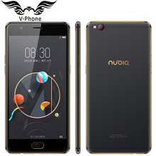 Original Nubia M2 Lite 4G LTE Mobile Phone 3GB RAM 64GB ROM MT6750 Quad Core 5.5 inch 16MP Android N Fingerprint ID SmartPhone