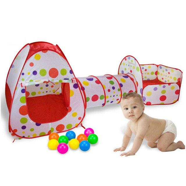 c0b62727d2be0 3 en 1 escrime pour enfants Portable bébé parc enfants piscine à balles  pliable Pop Up