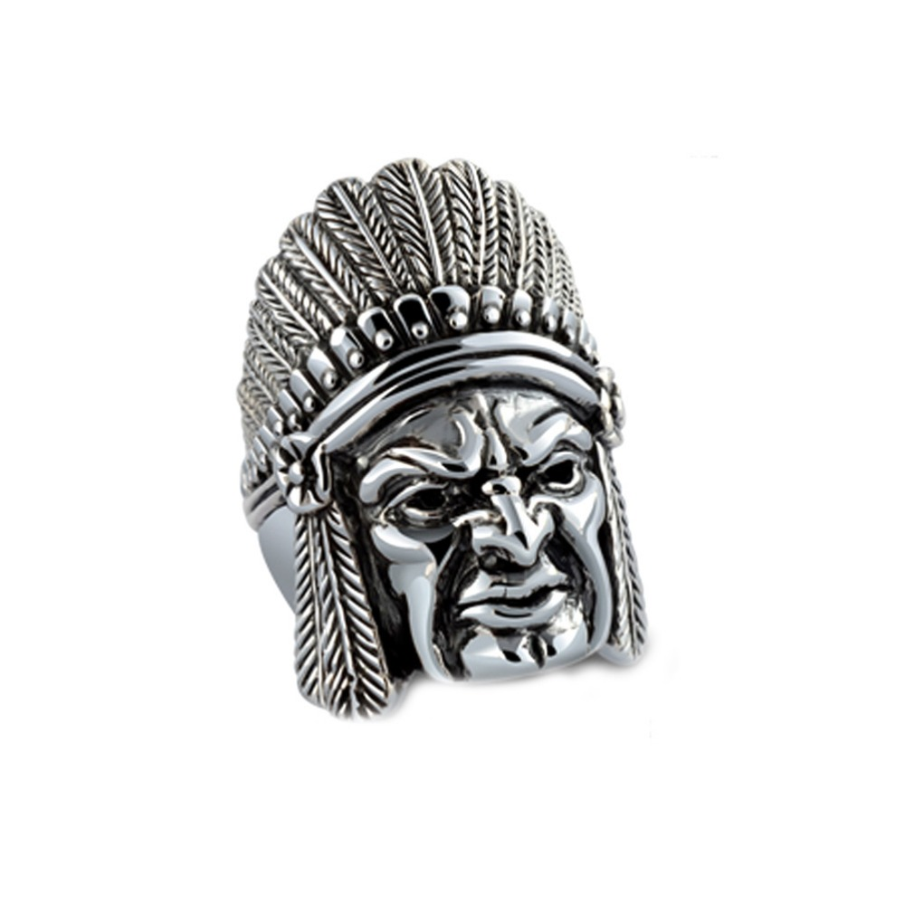 Jade Angel Thail Sterling Silver Indian Vintage Style Mens Ring Valentines Day Gifts, Birthday Gifts,Fathers Day GiftsJade Angel Thail Sterling Silver Indian Vintage Style Mens Ring Valentines Day Gifts, Birthday Gifts,Fathers Day Gifts