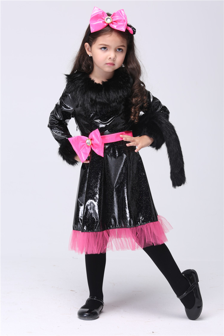 Kids Cat girl Costume Party Cosplay Performance Clothes Halloween Christmas Costumes-in Girls Costumes from Novelty u0026 Special Use on Aliexpress.com ...  sc 1 st  AliExpress.com & Kids Cat girl Costume Party Cosplay Performance Clothes Halloween ...