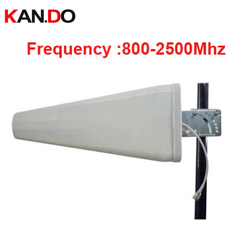 high quality 11dbi gain phone booster antenna 806 2500Mhz GSM LDP panel antenna WCDMA booster Logarithm Directional antenna|booster antenna|panel antenna|directional antenna - title=