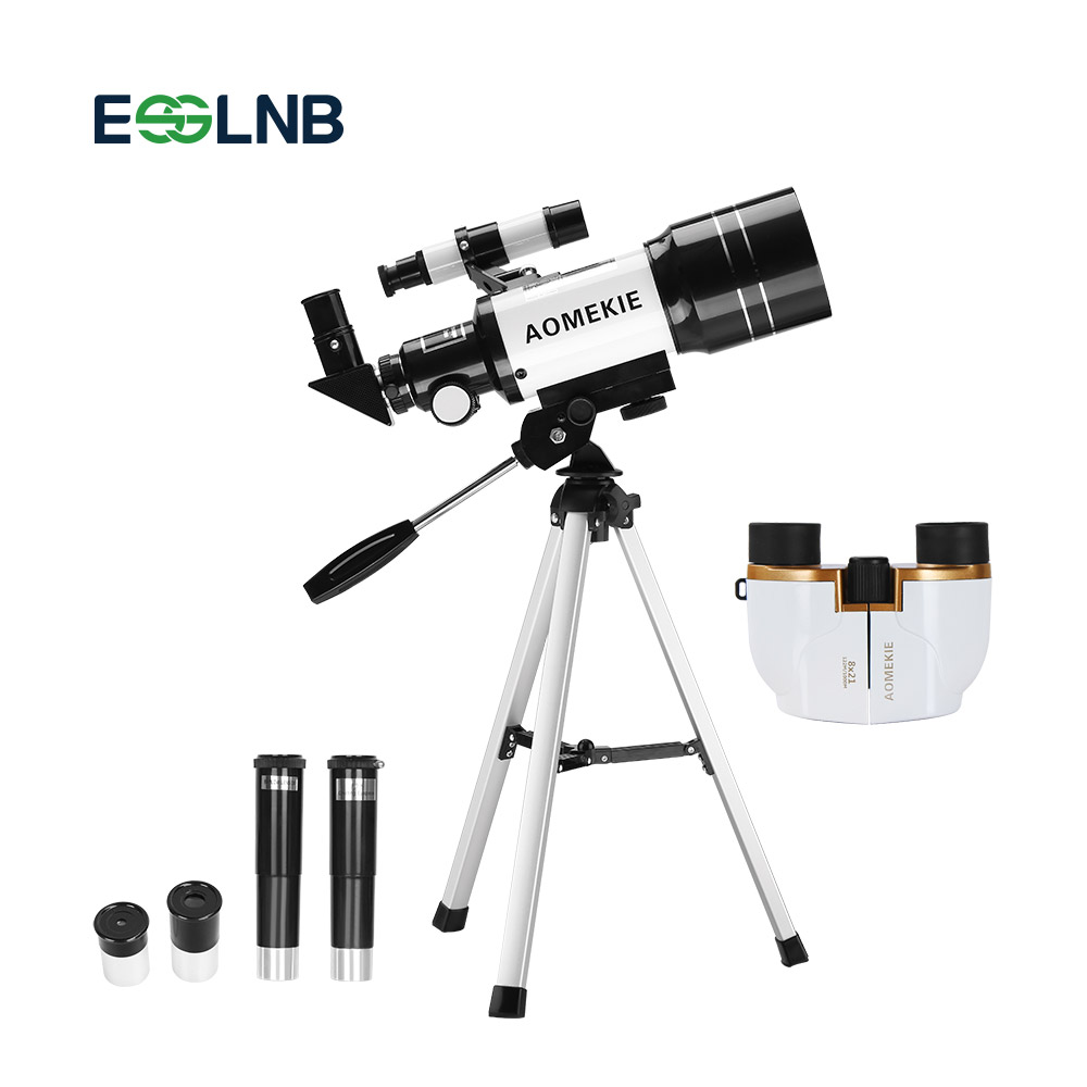 Outdoor Monocular Space Astronomical Telescope 8X21 Binoculars Spotting Scope 300 70mm Telescope Children Kids Gift