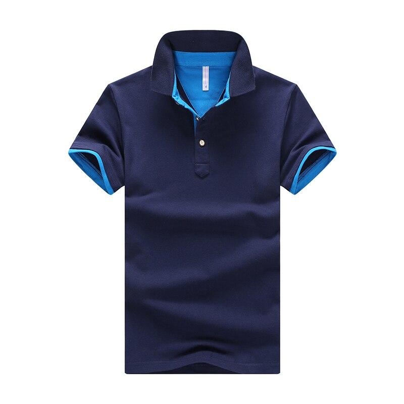 2019 New Brand Men's   Polo   Shirt For Men   Polos   Men Cotton Short Sleeve Shirt Jerseys Sweat Homme Plus Size XXXXL #MDXZ-501