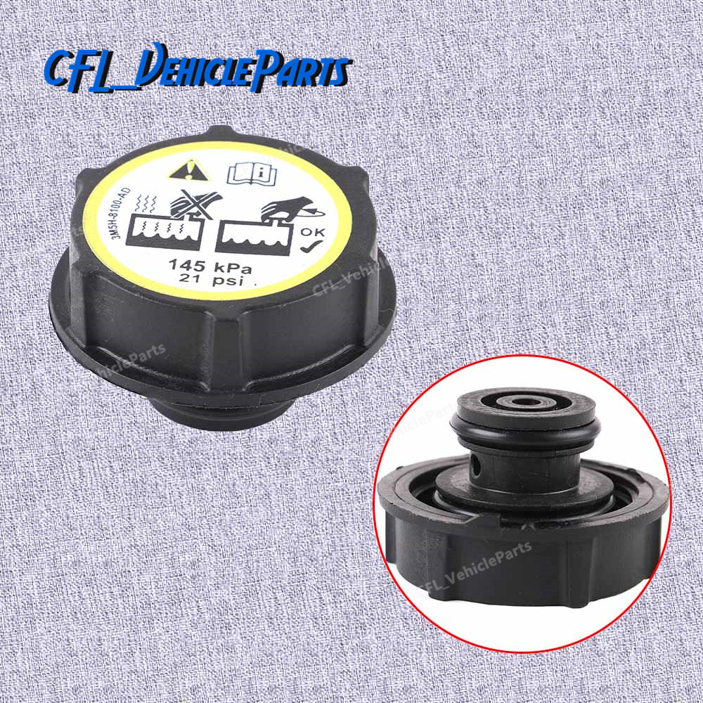30680002 New Radiator Expansion Water Tank Cap For Volvo