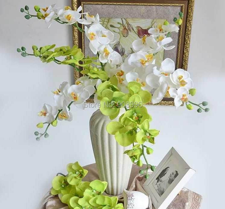 SPR 30 stks / partij kunstmatige vlinder orchidee zijde bloem - Feestversiering en feestartikelen - Foto 4