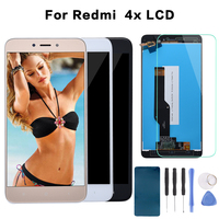 Global Version 5 0 IPS LCD For XIAOMI Redmi 4X Display Touch Screen Digitizer With Frame