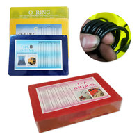 sorted O Ring Rubber Seal Assortment Set Kit Garage Plumbing With Case for General Plumbers Mechanics Workshop