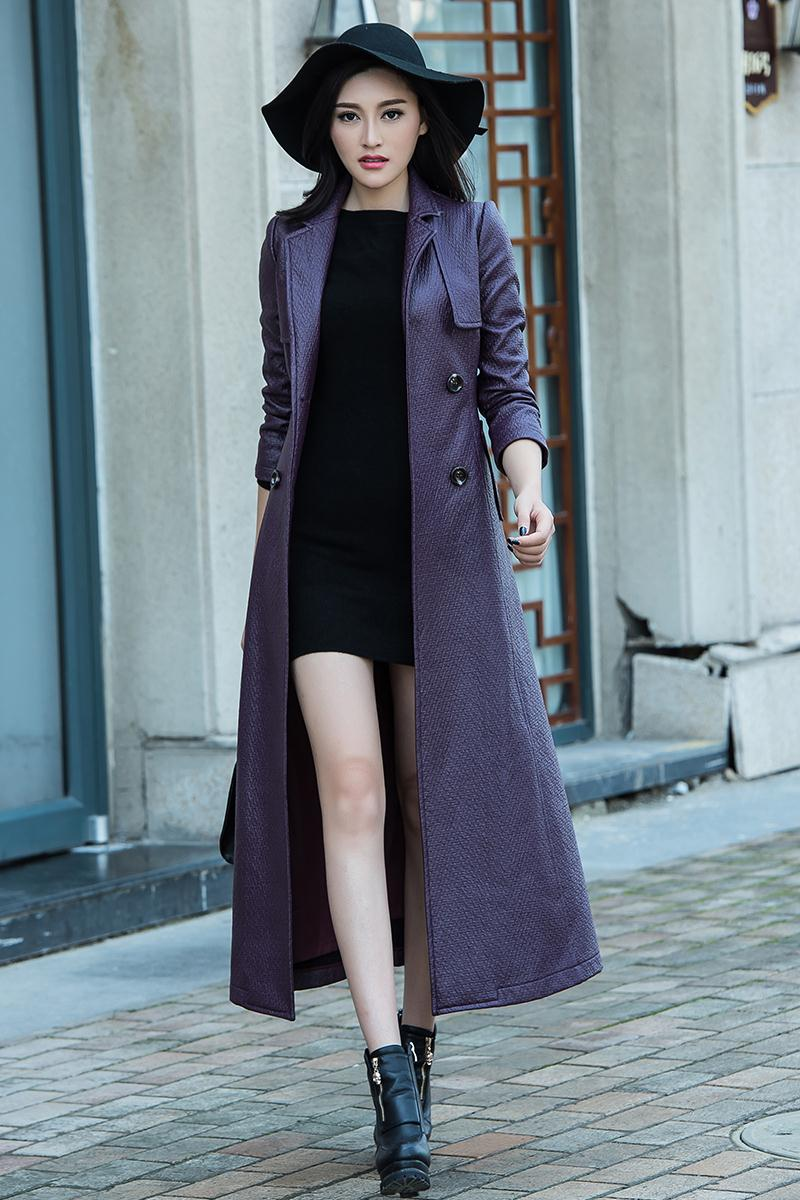 Aliexpress.com : Buy 2017 Women Long Trench Coat For Fall/Winter ...
