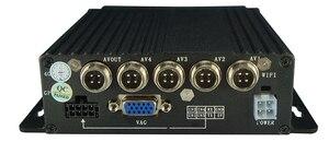 Image 2 - EL kit DVR para coche de 4 canales más barato, MDVR con menú ruso/Inglés, Registrador de vídeo para automóvil de 4 canales para autobuses y camiones