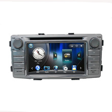 Free Shipping 6.2 inch touch screen Car DVD Player with GPS For 2012 TOYOTA Hilux in Radio BT AF FM USB 8GB map card